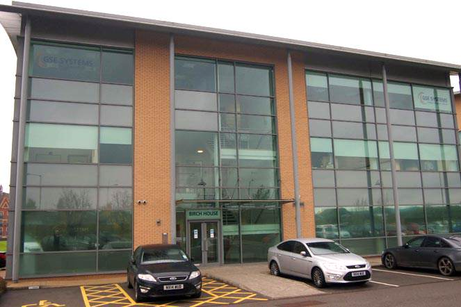 Birch House on Teesdale Business Park, Stockton-on-Tees, where 3,000 sq ft is to let via Dodds Brown