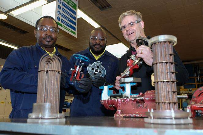 technicians travel 3 700  miles for tees training