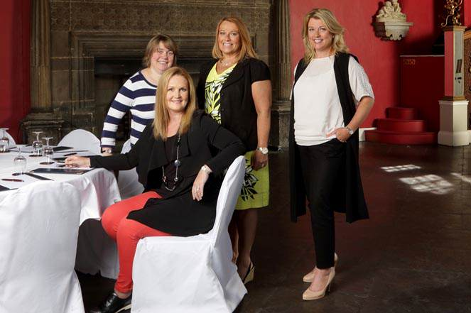 Ruth Plummer Newcastle University Jayne Dolder Bazaar Group Nickie Gott Chair Womens Advisory Board Leisa Docherty Sage