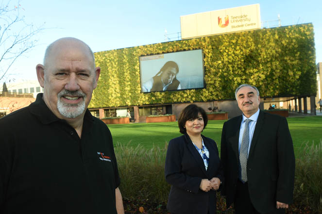 Applied Integration are working with Teesside University on a number of projects. 11/11/16 Pic Doug Moody Photography