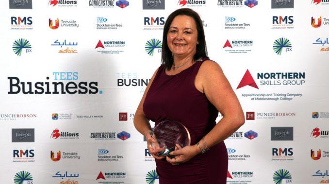 Ann Stonehouse 2019 Tees Businesswomen Awards