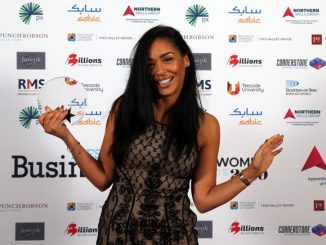 Sara Arthur Tees Businesswomen Awards