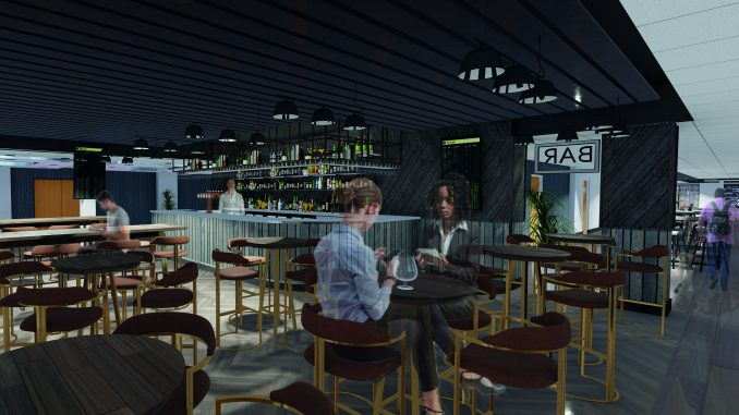 The new cafe bar